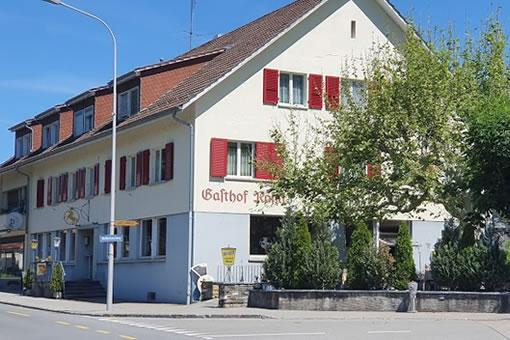 Bild des Restaurant Rössli in Gasel von vorne